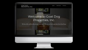 Goat Dog Properties JAMB Digital Media Website Development